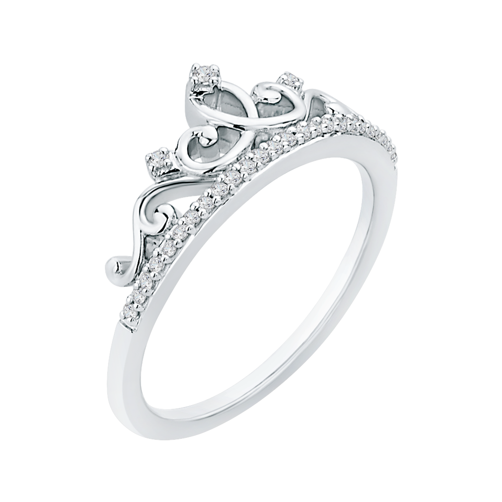 en white to engagement mv rings cut kay zm round kaystore hover ring gold tiara ct diamond zoom tw