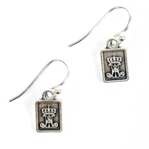 Garment of Grace Earrings-My Saint My Hero-Howard's Diamond Center