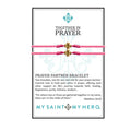 Together in Prayer/Gold Prayer Partners Bracelets-My Saint My Hero-Howard's Diamond Center