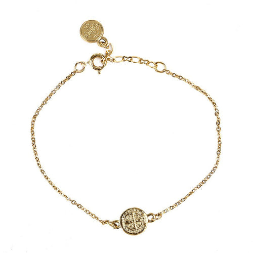 Breathe Blessing Chain Bracelet-My Saint My Hero-Howard's Diamond Center
