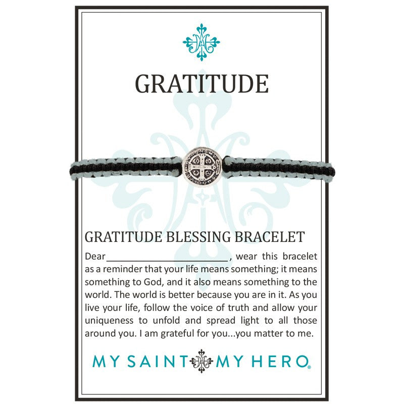 Gratitude Bracelet-My Saint My Hero-Howard's Diamond Center