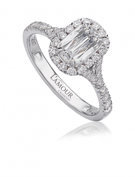 L'Amour Crisscut 1.12 Carat Total Weight