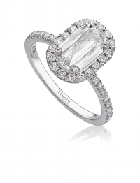 L'amour Crisscut 1.32Carat Total Weight