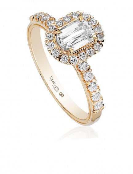 L'Amour Crisscut .87 Carat Total Weight