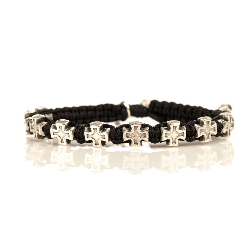 Faith for Him Bracelet-My Saint My Hero-Howard's Diamond Center