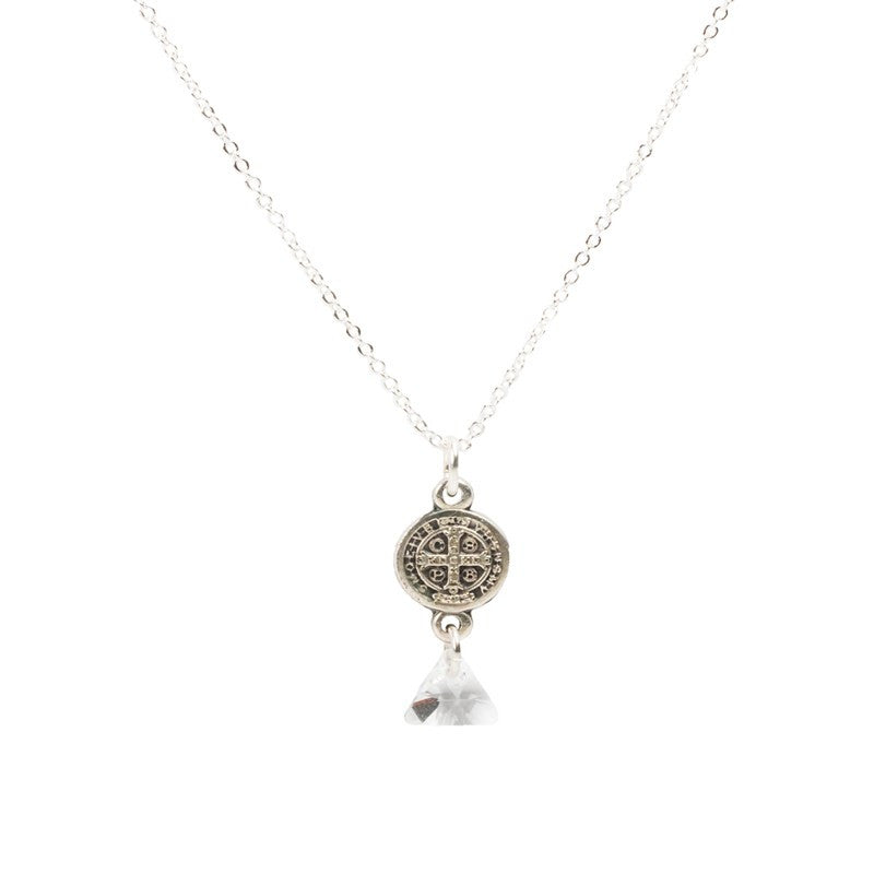 Blessed Trinity in Starlight Necklace-My Saint My Hero-Howard's Diamond Center