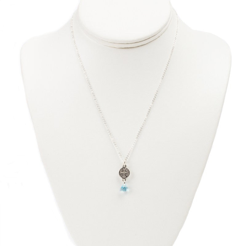 Blessed Trinity in Tranquility Necklace-My Saint My Hero-Howard's Diamond Center