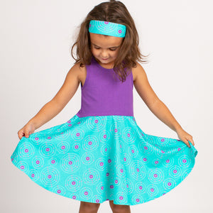 """Up and Atom"" Chemistry Twirly Dresses"