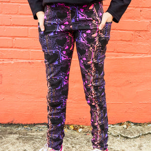 """Heart-wired"" Heart Circuits Leggings with Pockets"
