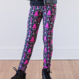 """Fleur-de-Lift-Off"" Rockets Leggings with Pockets"