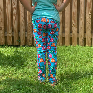 Video Game Ghosts Leggings with Pockets