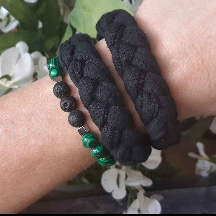 Green Malachite & Warrior Wrap Combo