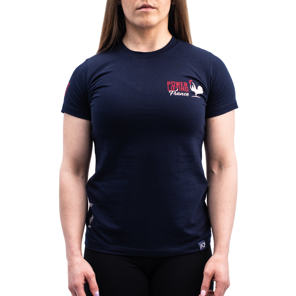 Powerlifting France Bar Grip T-shirt, great as a squat shirt. Purchase Powerlifting France Bar Grip tshirt UK from A7 UK. Purchase Powerlifting France Bar Grip Shirt in Europe from A7 UK. No more chalk and no more sliding. Best Bar Grip Tshirts, shipping to UK and Europe from A7 UK. Powerlifting France is our classic black on black shirt design! The best Powerlifting apparel for all your workouts. Available in UK and Europe including France, Italy, Germany, Sweden and Poland