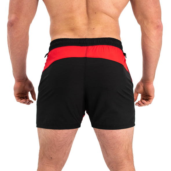 Have you ever squatted in shorts and realised that they may be too tight on you at the bottom of a squat? We have solved this problem with A7 Centre-stretch Squat Shorts. The shorts are made with stretchy fabric in between legs so you are never constricted during your squat. KWD shorts have a shorter inseam and are designed to show off your quads (KWaDs). Available in UK and Europe including France, Italy, Germany, Sweden and Poland.