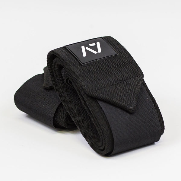 Whether you are benching or squatting, A7 wrist wraps are a perfect addition to your gym bag. These wraps feature double thumb loops so you don't ever have to worry about which way you have to put them on. We offer these wrist wraps in 3 sizes : 55 cm, 77 cm and 99 cm.  A7 Wrist Wraps are IPF approved.