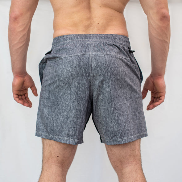 Have you ever squatted in shorts and realised that they may be too tight on you at the bottom of a squat? We have solved this problem with A7 Centre-stretch Squat Shorts. The shorts are made with stretchy fabric in between legs so you are never constricted during your squat.
