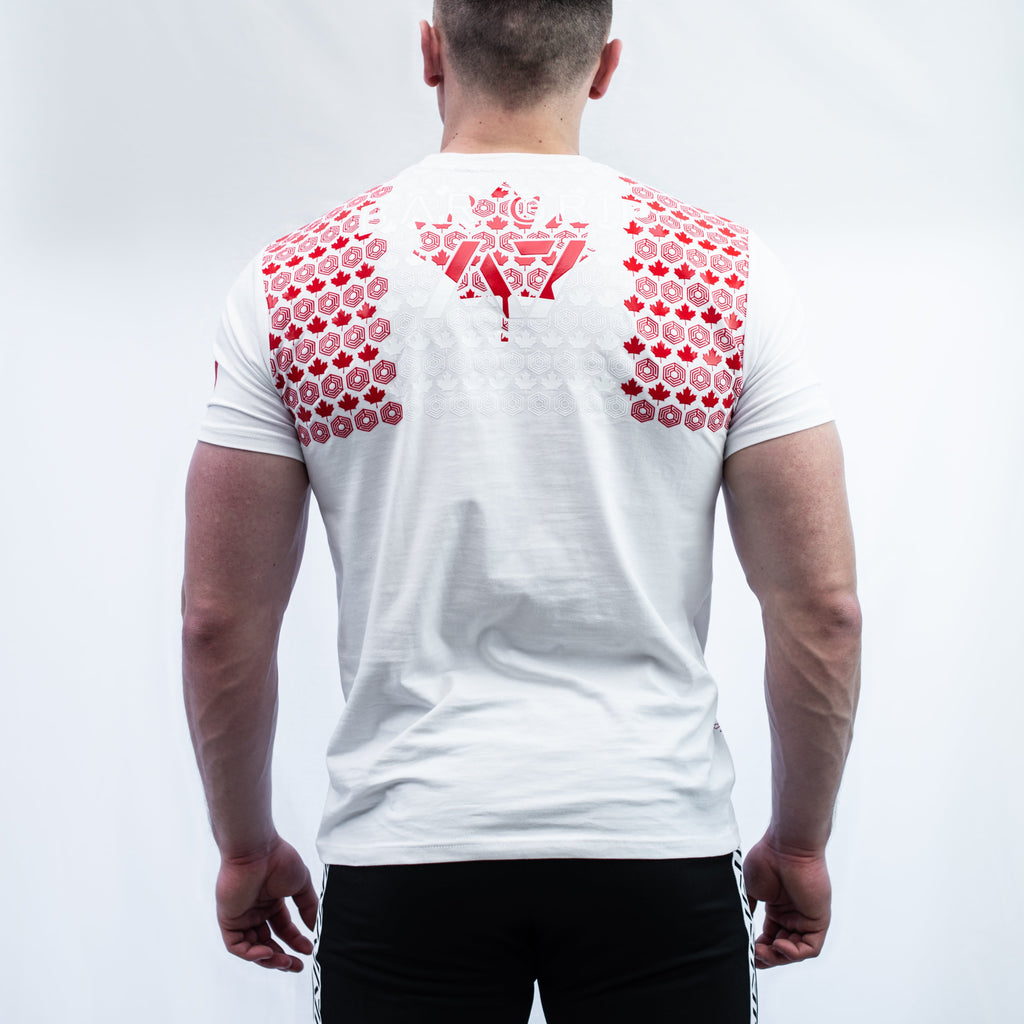 Canada Powerlifting Bar Grip Men's Shirt