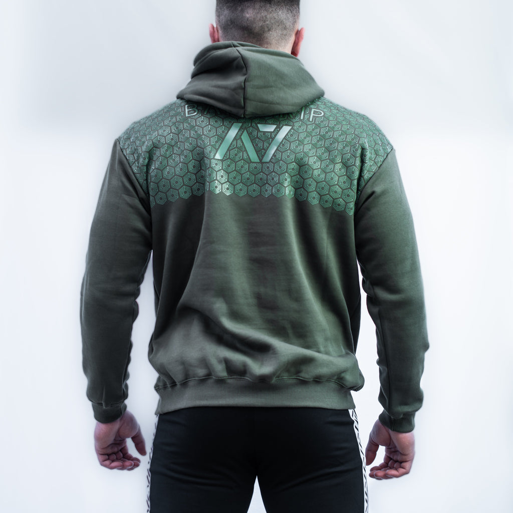 Mark Bar Grip Hoodie features: Ultra soft cotton/polyester fleece blend, A7CO design on the chest, Drawstrings with A7 tips, Double-lined hood, Kangaroo pocket, Relaxed fit, Bar Grip Premium. Bar Grip is a performance shirt with a patent-pending silicone grip that is designed to help with slippery benches and bars. The best Powerlifting apparel and clothes for all your workouts. Best Bar Grip Tshirts, shipping to UK and Europe from A7 UK.