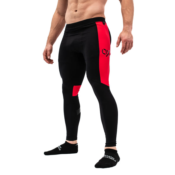 Ox Men's Compression Pants - Ember