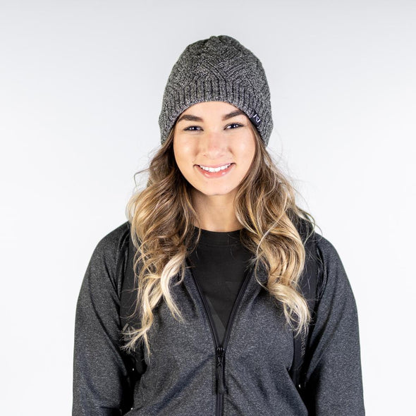 Demand Greatness Beanie - Charcoal