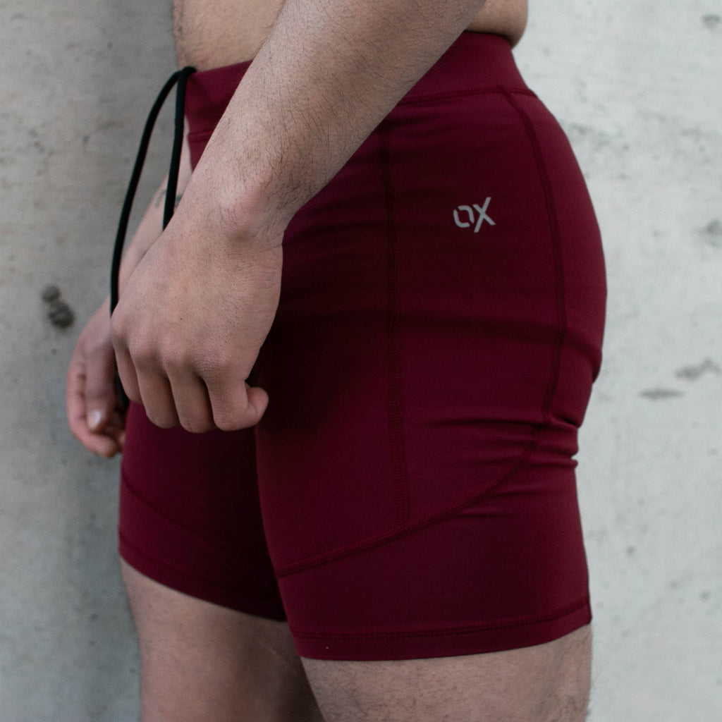 A7 OX compression shorts are perfect for training at a hot gym and even going for a jog outside. The shorts are made out of soft yet moisture-wicking fabric that allows for ultimate performance. A cell phone pocket and a key clip are added to make sure you have your valuables with you at all times.