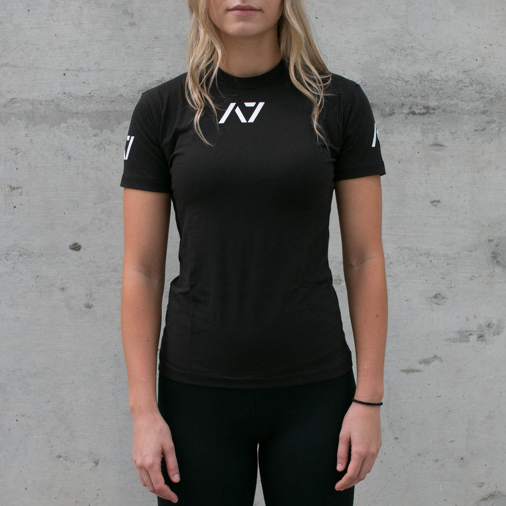 IPF Approved Logo Women's Meet Shirt - Black
