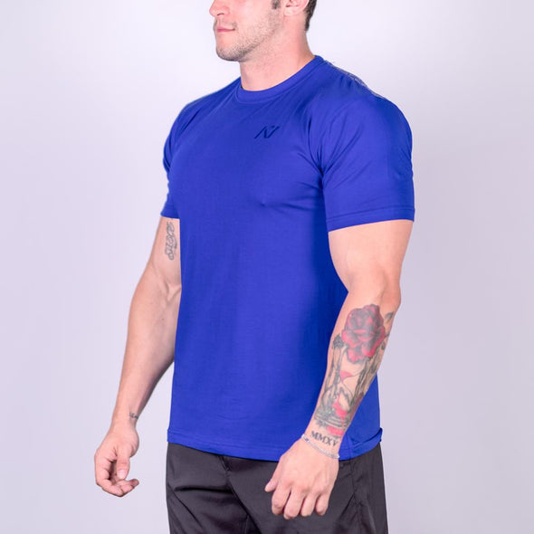 Unity Blue Bar Grip T-shirt, great as a squat shirt. Purchase Unity Blue Bar Grip tshirt from A7 UK. Purchase Unity Blue Bar Grip Shirt Europe from A7 UK. No more chalk and no more sliding. Best Bar Grip Tshirts, shipping to UK and Europe from A7 UK. The best Powerlifting apparel for all your workouts.