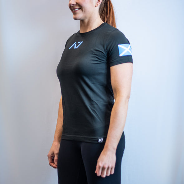 IPF Approved Logo Women's Meet Shirt - Scotland