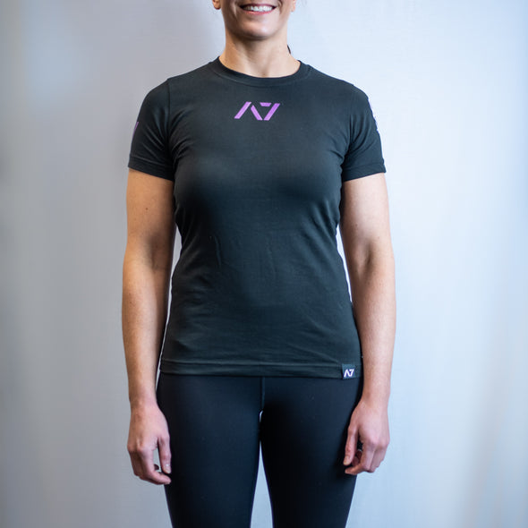 IPF Approved Logo Women's Meet Shirt - NIPF Limited Edition Grape