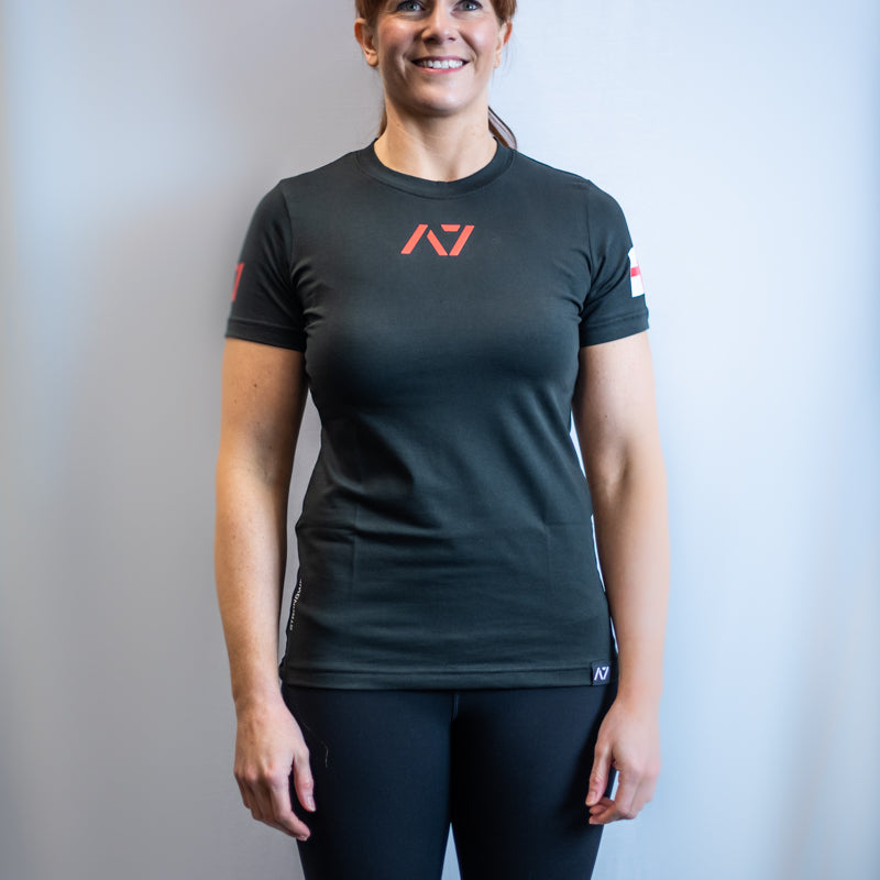 IPF Approved Logo Women's Meet Shirt - England