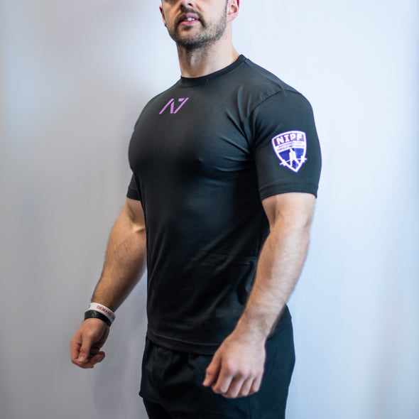 IPF Approved Logo Men's Meet Shirt - NIPF Limited Edition Grape