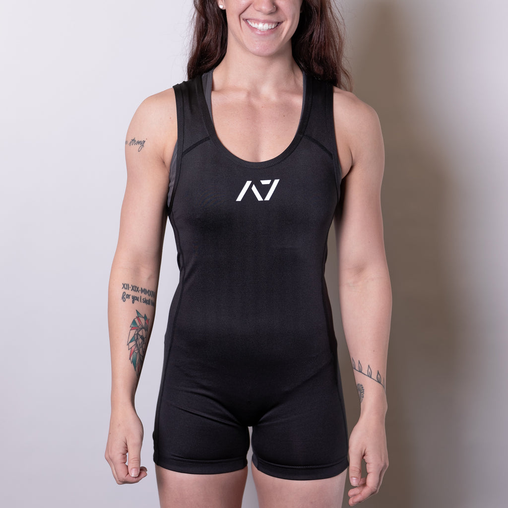 A7 IPF Approved Singlet is designed exclusively for powerlifting. It is very comfortable to wear and feels soft on bare skin. A7 singlet is made from breathable fabric and provides compression during your lifts. IPF Approved Singlet.