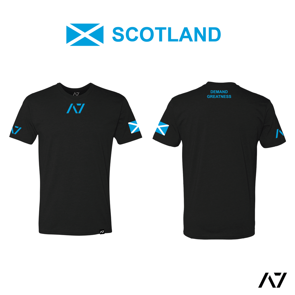 IPF Approved Logo Men's Meet Shirt - Scotland