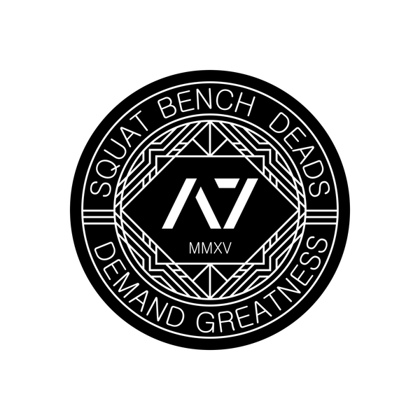 Squat Bench Deads Sticker