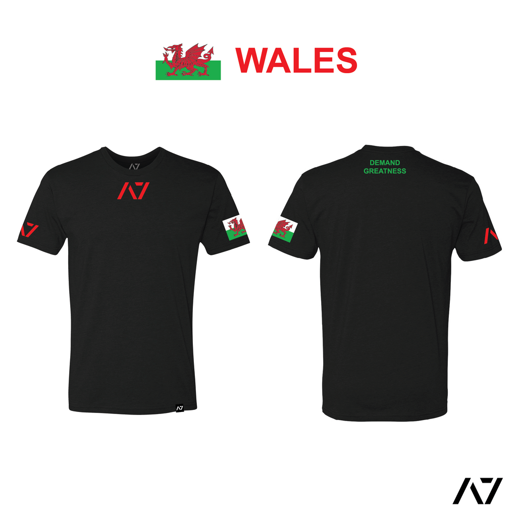 IPF Approved Logo Women's Meet Shirt - Wales