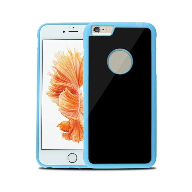 Incredible Nano Suction iPhone Case - Sticks To Most Smooth Surfaces! - For iPhone X, 8, 7, 6S