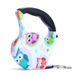 Gorgeous Retractable 10ft Leash with Hand Grip- 11 Colors