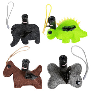 Cute And Discreet Dog Poop Bag Holders