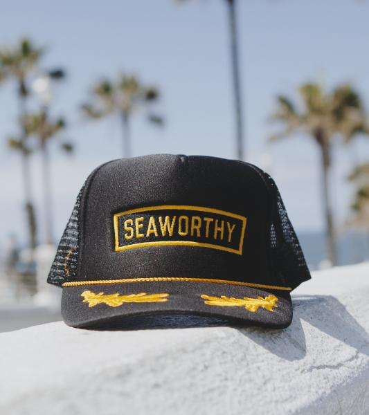 Sailor Hat Black/Gold