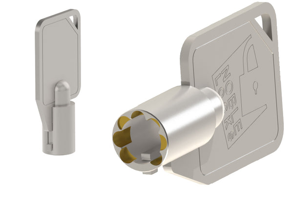 NG04DHT Dual-Head Compact T-Bar Locks