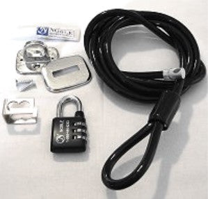 NG30Kit Universal Combination Anti Theft Padlock Kit