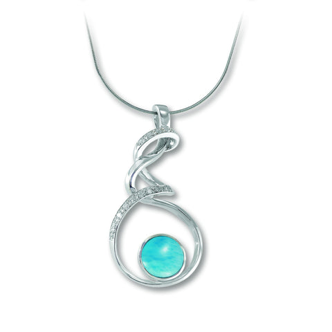 Dante Larimar Necklace