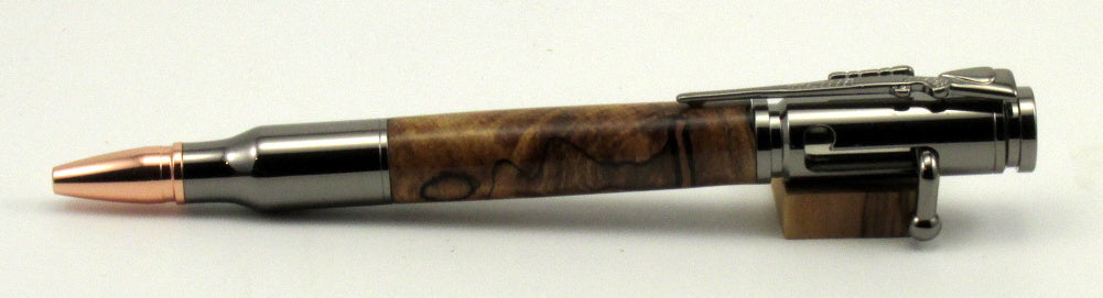 Spalted Oak Bolt Action Pen - Timber Creek Turnings