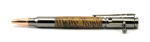 We The People on Bolt Action Pen