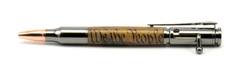 """We The People"" Bolt Action Pen - Timber Creek Turnings"