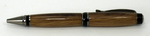 Oak From Jack Daniels Whiskey Barrel on Cigar Pen - Timber Creek Turnings
