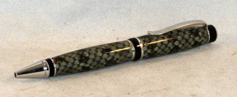 Cigar Pen with Prairie Rattlesnake Skin