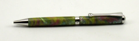Gracie Pen with Pastel Swirl Acrylic