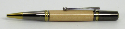 Wood from Cedar Bridge Tavern on Majestic Squire Pen - Timber Creek Turnings