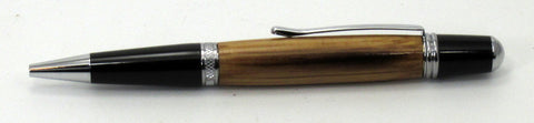 Oak from Jack Daniel's Sinatra Select Whiskey Barrel on Sierra Pen - Timber Creek Turnings